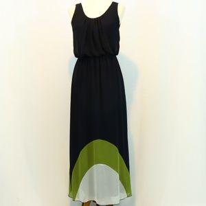 EnFocus Studio Color Block Maxi Dress